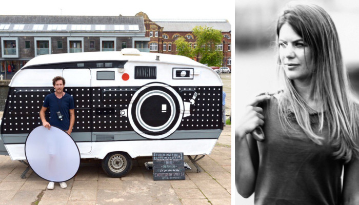 I Turned A $200 Camper Into A Giant Camera And Portable Darkroom