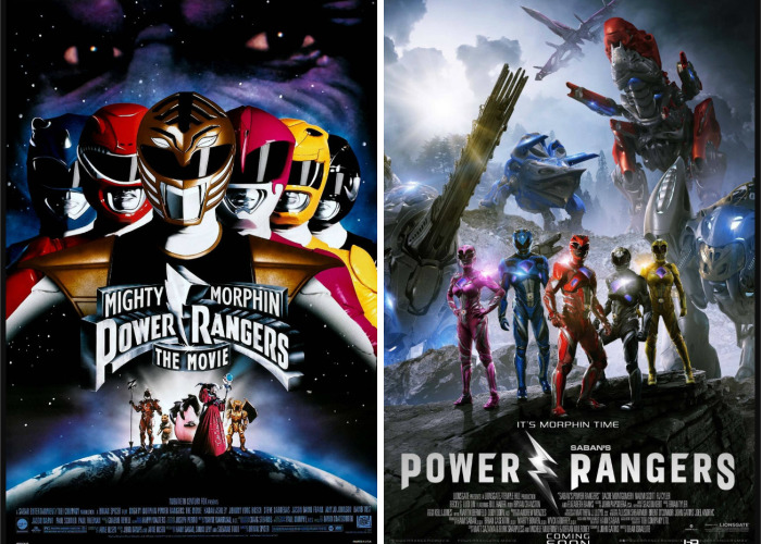 Original Vs Remaker: Posters Of Movies From The Past Recreated For The Modern Public