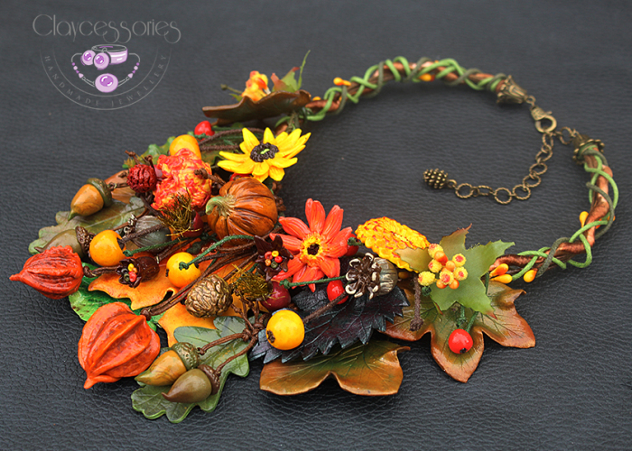 I Use Polymer Clay To Create Autumn-Inspired Jewellery