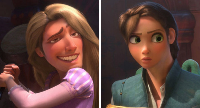 This Is What Would Happen If The Disney Characters Used Face Swap