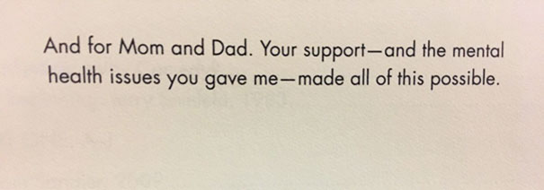 Hooked On Judd Apatow's Book Since The Dedication Page