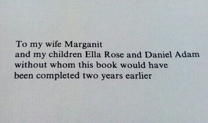 10+ Times Writers Took Book Dedications To Another Level