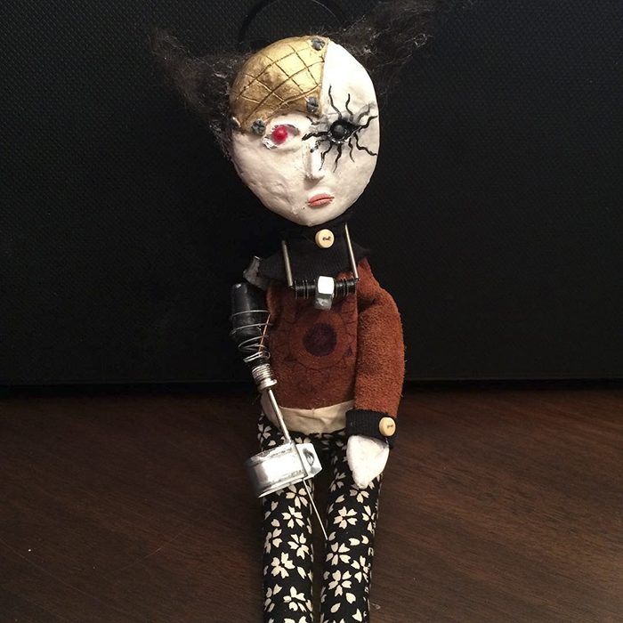 12-Year-Old Boy Creates Creepy Sculptures Using Found Materials, And  They're Surprisingly Awesome | Bored Panda