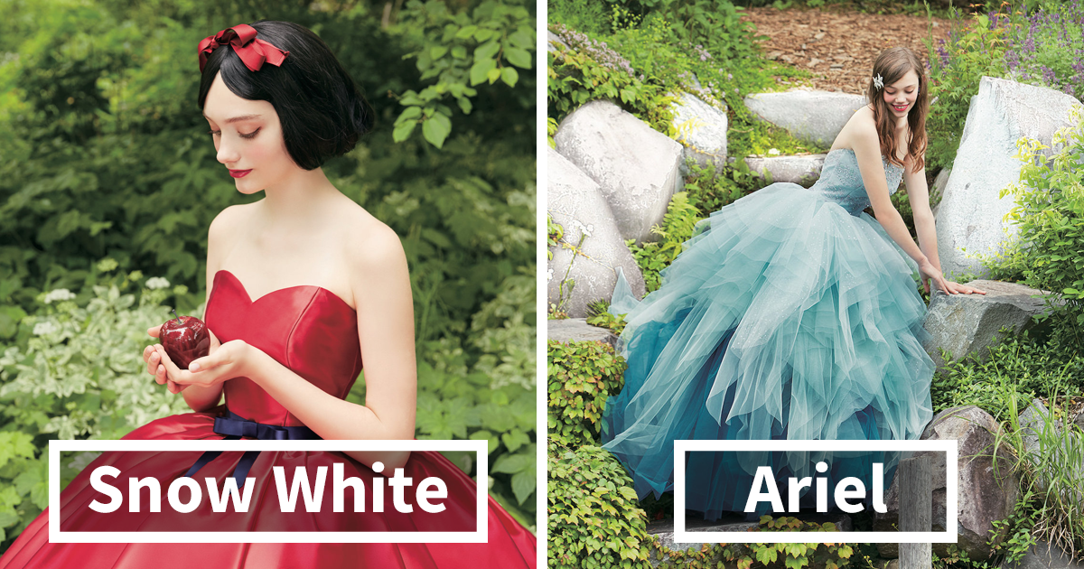 Disney Princess Wedding Dresses That Will Make Your