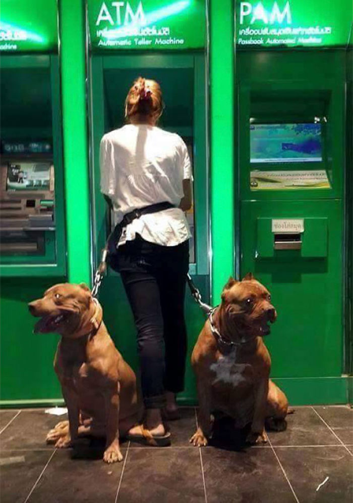 Using The ATM At Night