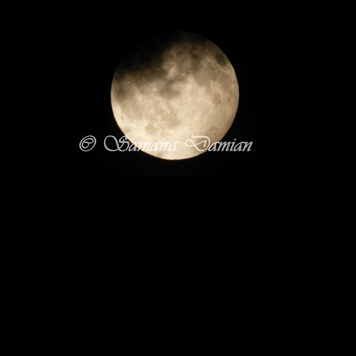 Penumbral Moon Eclipse August 7 2017 Photos
