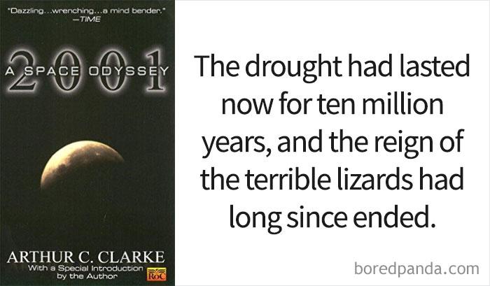 '2001: A Space Odyssey' By Arthur C. Clarke
