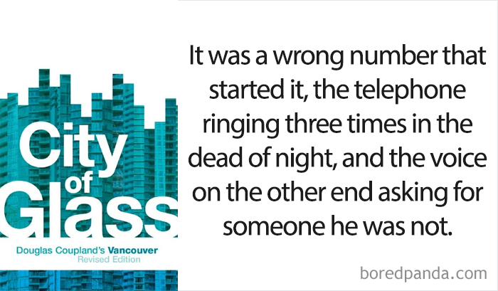 'City Of Glass' By Douglas Coupland