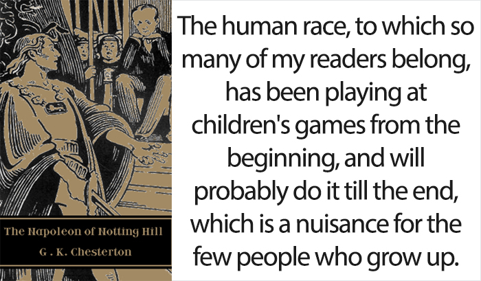 'The Napoleon Of Notting Hill' By G. K. Chesterton