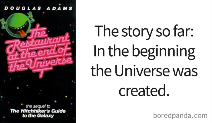 'The Restaurant At The End Of The Universe' By Douglas Adams