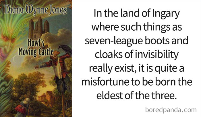'Howl's Moving Castle' By Diana Wynne Jones