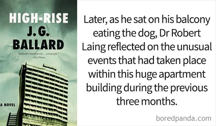 'High-Rise' By J.G. Ballard