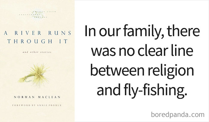 'A River Runs Through It' By Norman Maclean