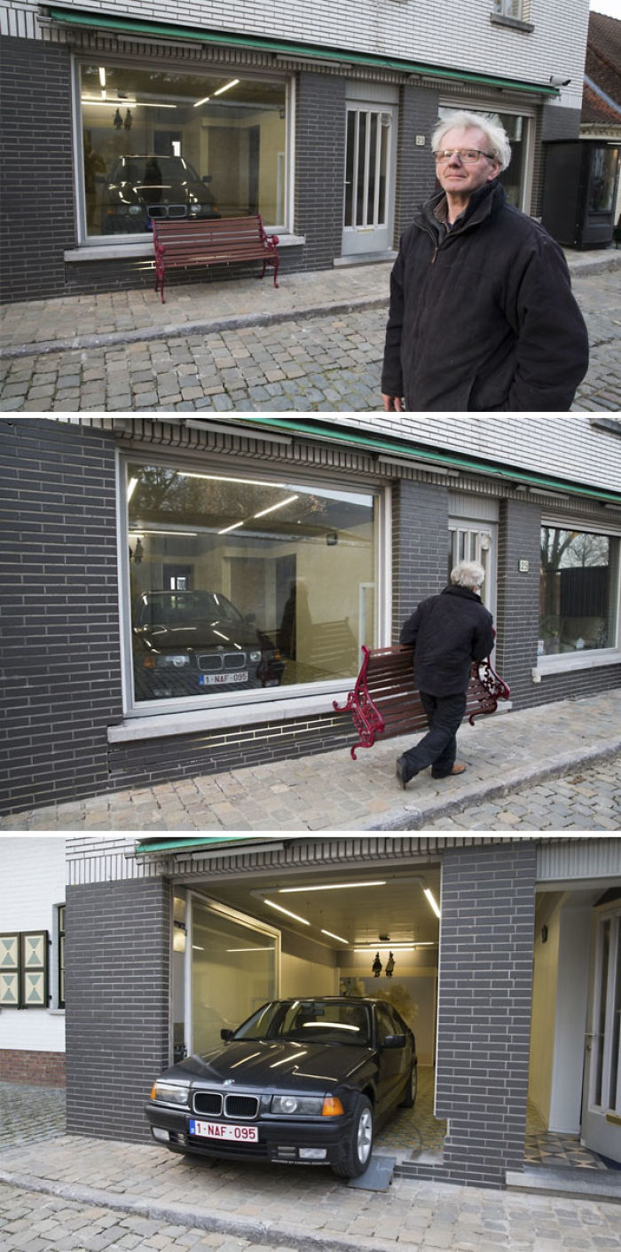 Government Said He Can't Install A Garage Door. Whatever