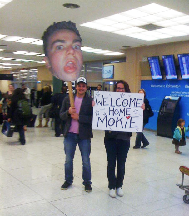 How I Welcomed My Brother Home At The Airport After A Year At University