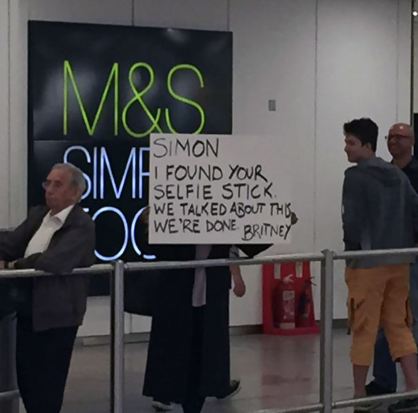 Just Seen Airport Welcome Sign