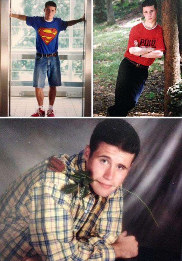 My Husband's 1999 Senior Photos
