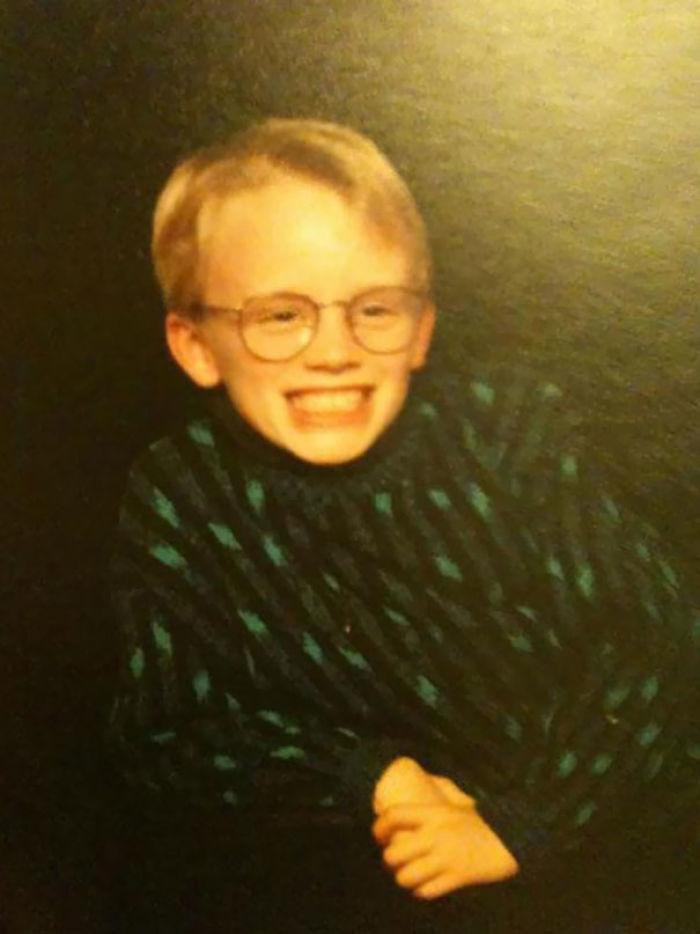 I Looked Like Macaulay Culkin Wearing A Cosby Sweater