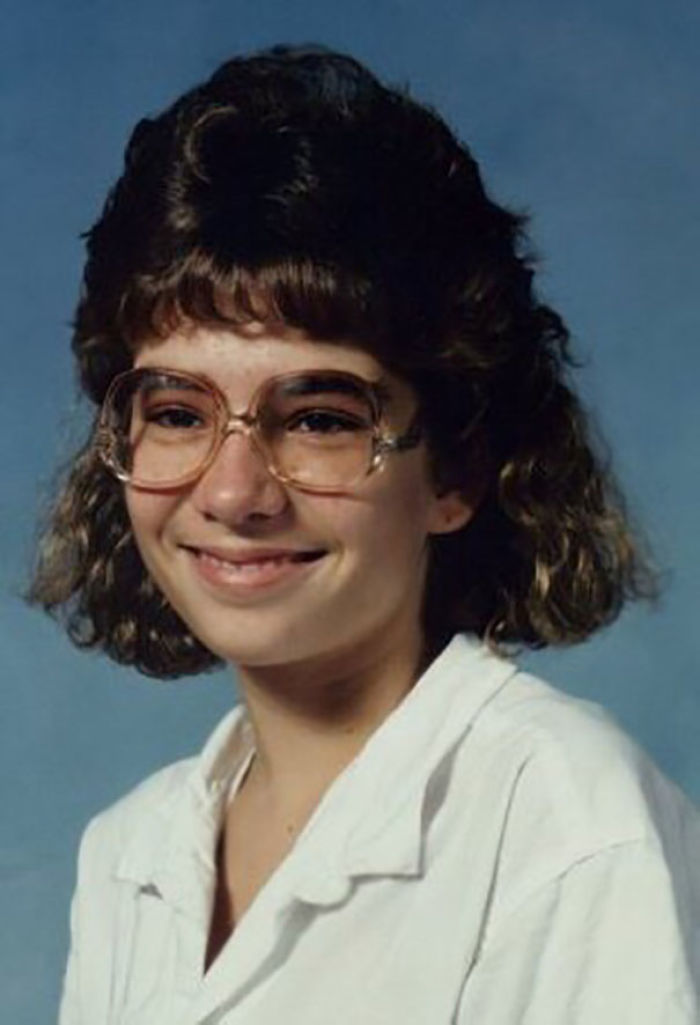 I Give You The Mentally Challenged Lunch Lady, Circa 1988. Junior High Was Not Kind To Me