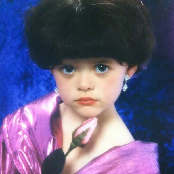 My Sister's Glamour Shot: Age 4