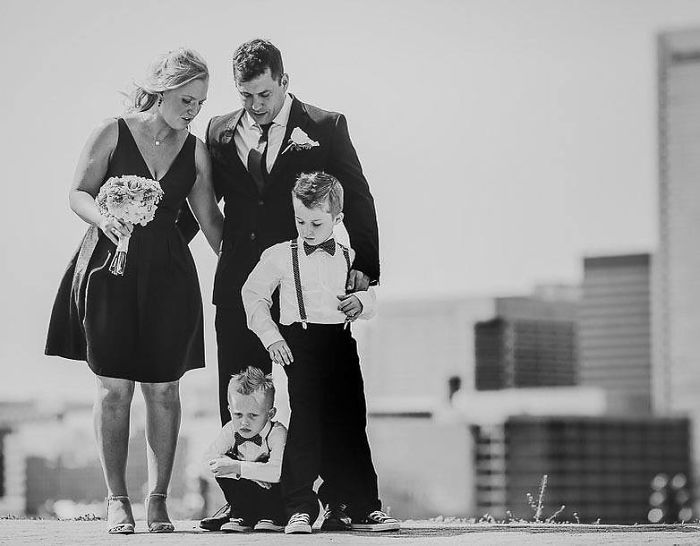 Kids Can Give All Kinds Of Parenting Experiences In A Nutshell At Weddings