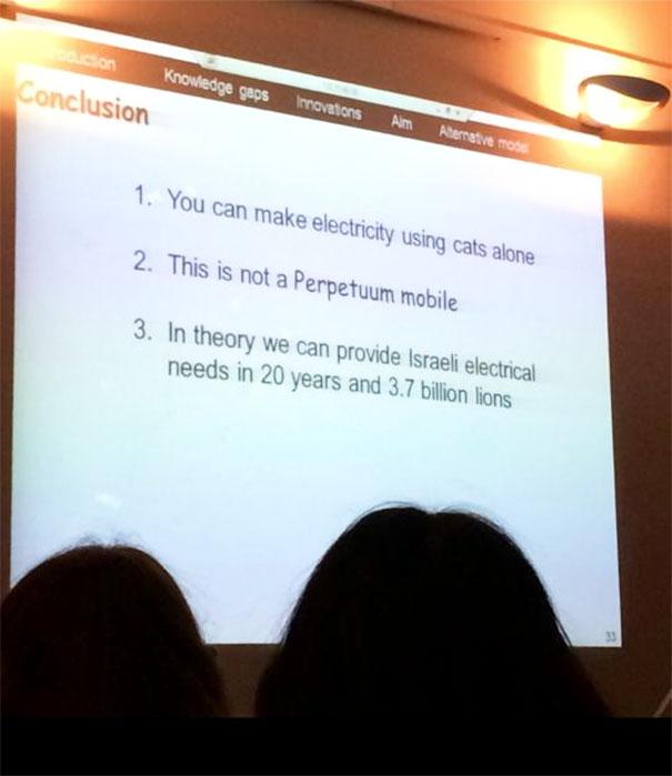 "Some Slides From My University's ""Bullshit Conference"""