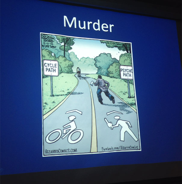My Necrophysiology Professor Put This In His Powerpoint And I Laughed
