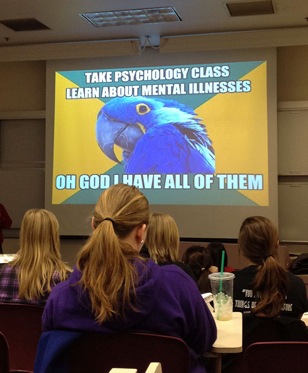 Taking Notes In Psychology Today When All Of The Sudden...
