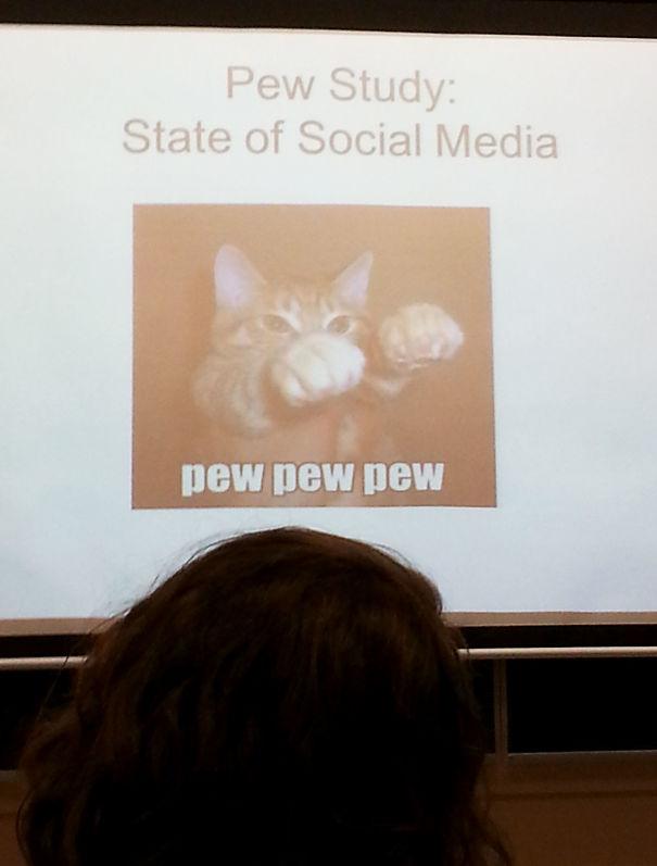 My Professor Gets It