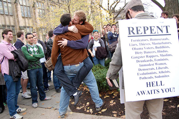 Street Preacher Schooled By Yale Students