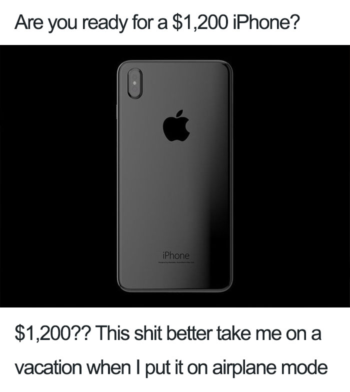 53 Of The Funniest Reactions To New Iphone X That Apple Fans