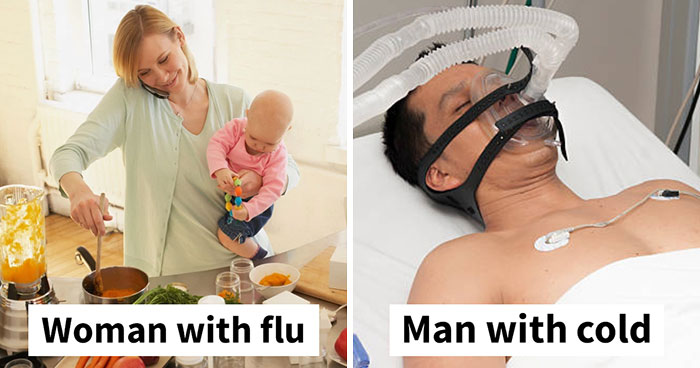 10+ Hilarious Posts About Husbands Who Catch A Cold And Think They're Dying