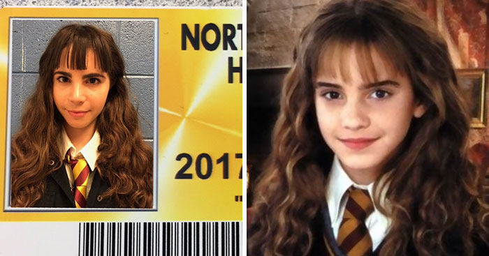 High School Let Seniors Wear Costumes For Their Student ID's And Their Pics Just Won The Internet