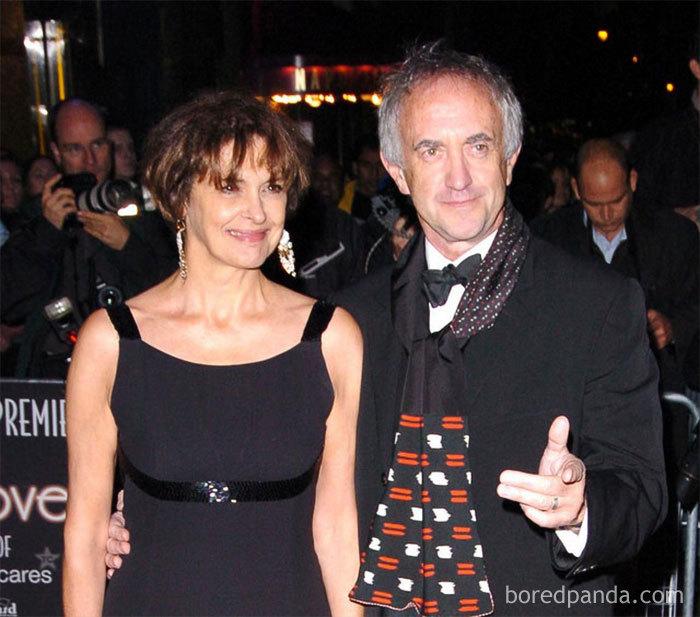 Jonathan Pryce (High Sparrow) And His Wife Kate Fahy
