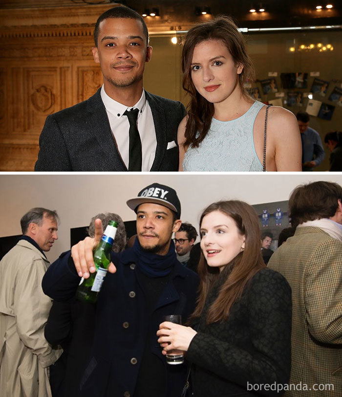Jacob Anderson (Grey Worm) And Actress Aisling Loftus