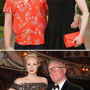 Gwendoline Christie (Brienne Of Tarth) And Fashion Designer Giles Deacon