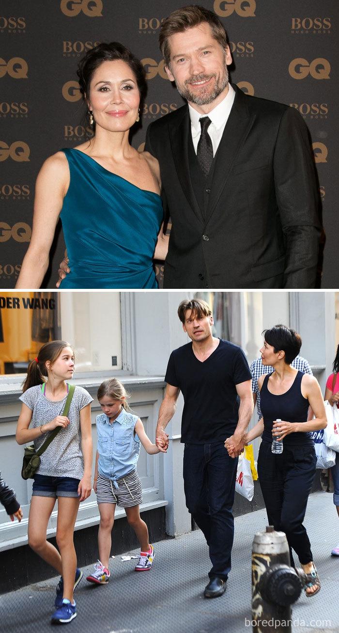 Nikolaj Coster-Waldau (Jaime Lannister) And His Wife, Singer Nukâka