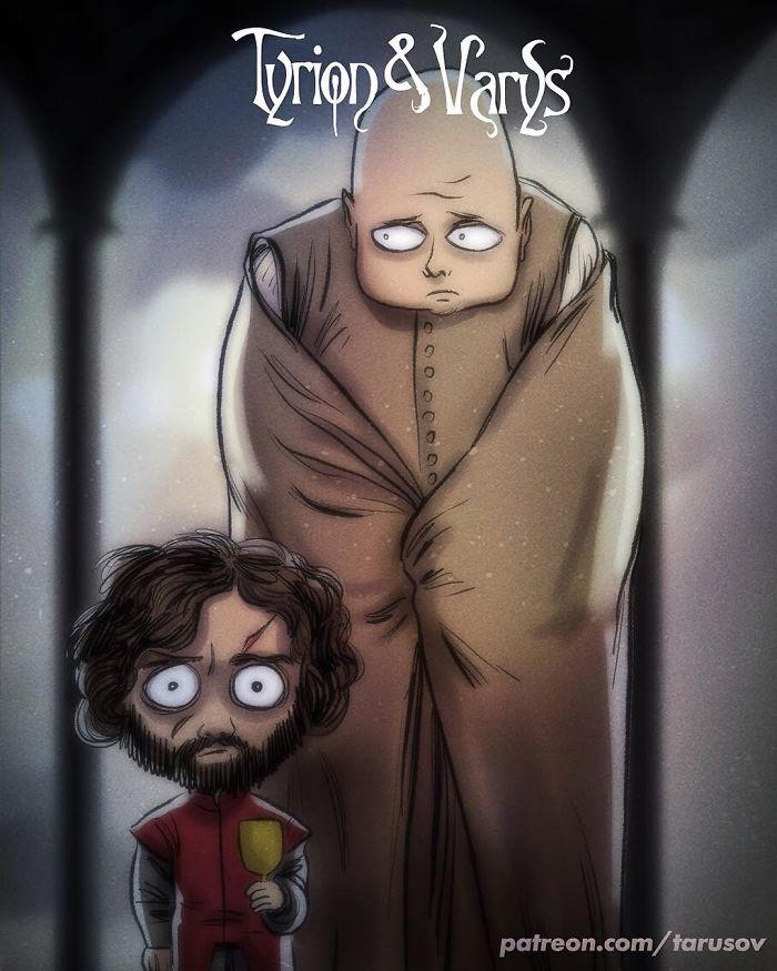 Tyrion & Varys