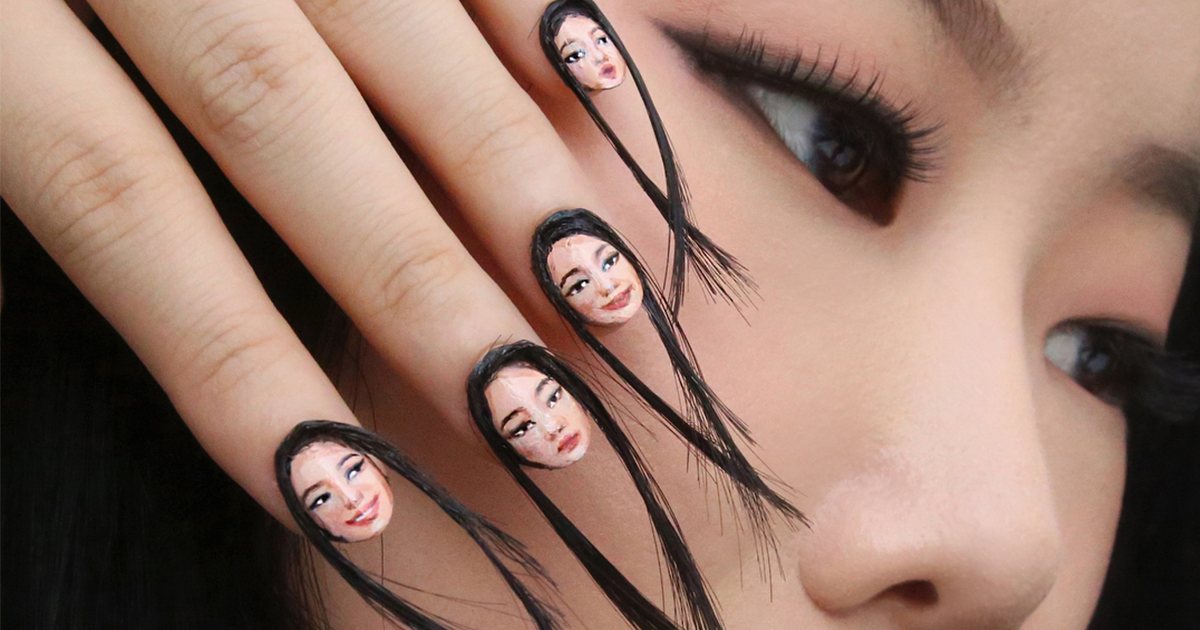 Hairy Selfie Nails Exist Now, And It's As Terrible As It Sounds