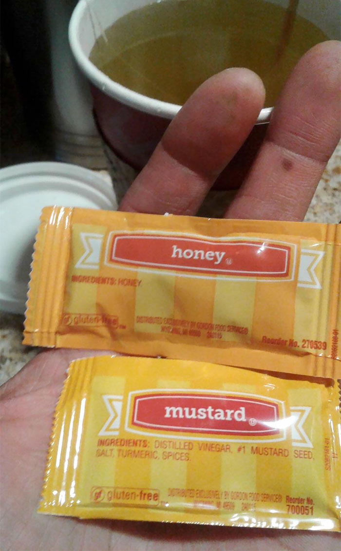 When You Put Mustard In Your Tea
