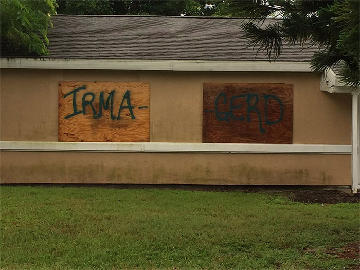 """Irma Gerd"" - Someone In Port St. Lucie Gets It"