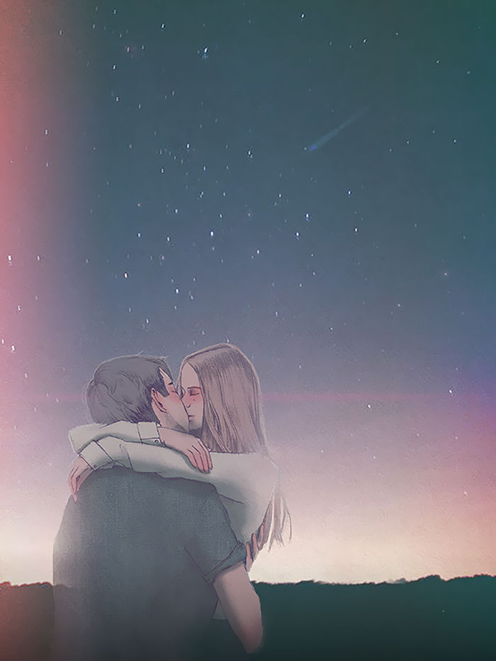 Kissing Under The Stars