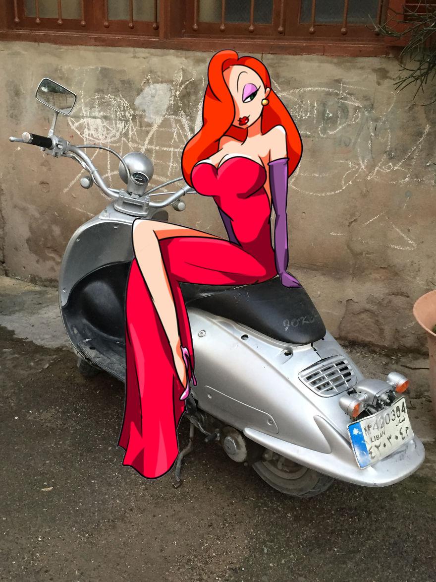 Jessica Rabbit (Batroun, Lebanon)
