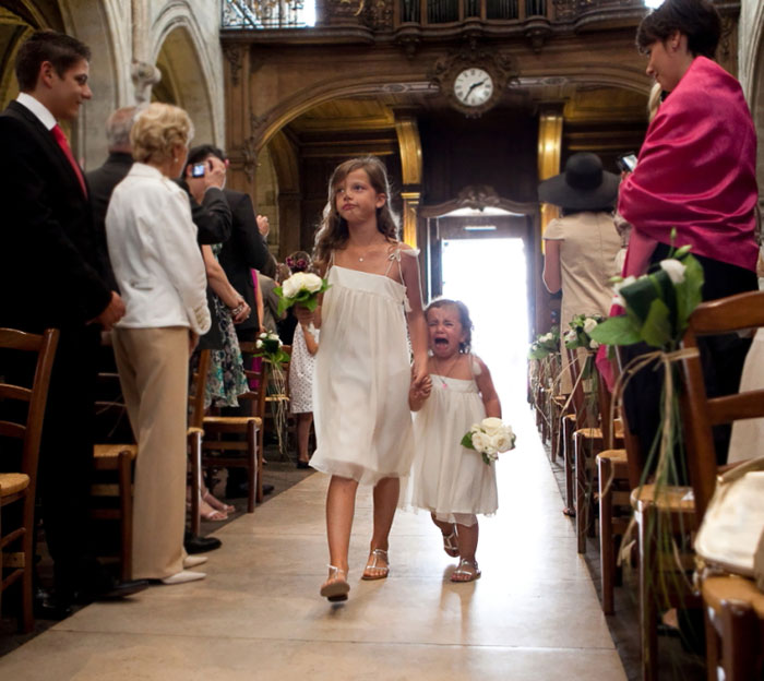 Being A Flower Girl Is Emotional Too