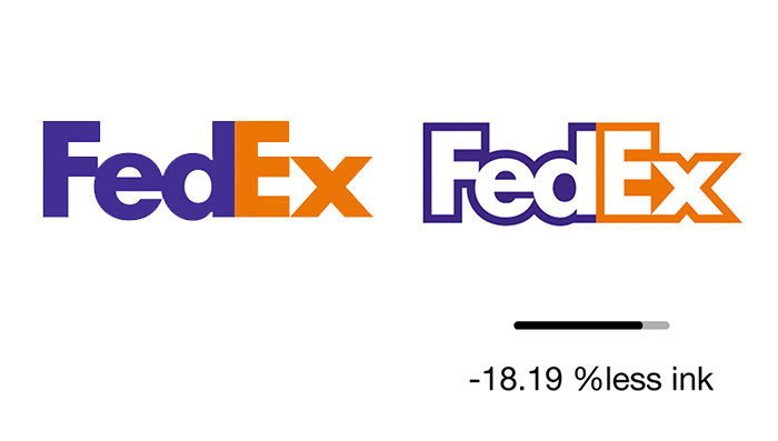 Someone Optimized Famous Logos To Use Less Ink And Be More