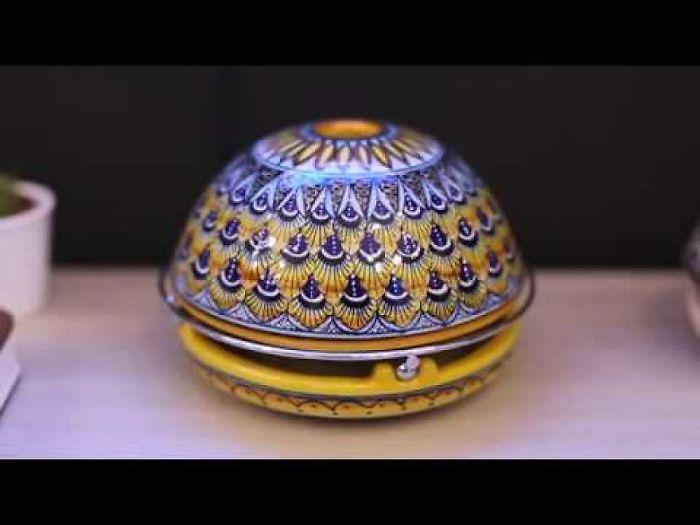 Timelapse Mandala Painting – Eco-Heater