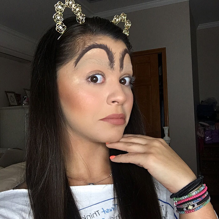 Woman Trolls Weird Eyebrow Trends With McDonald's Brows And The Internet Is Applauding Her