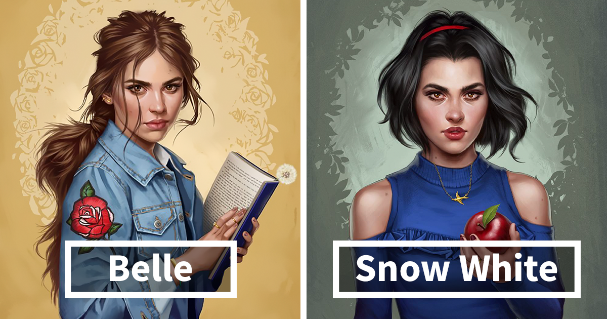 Here's How Disney Princesses Would Look Like If They Lived In 2017
