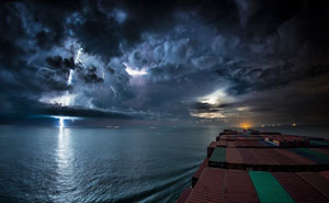 Incredible 30-Day Journey Of A Cargo Ship In A Timelapse Shows What Most Of Us Will Never See In Our Lifetimes