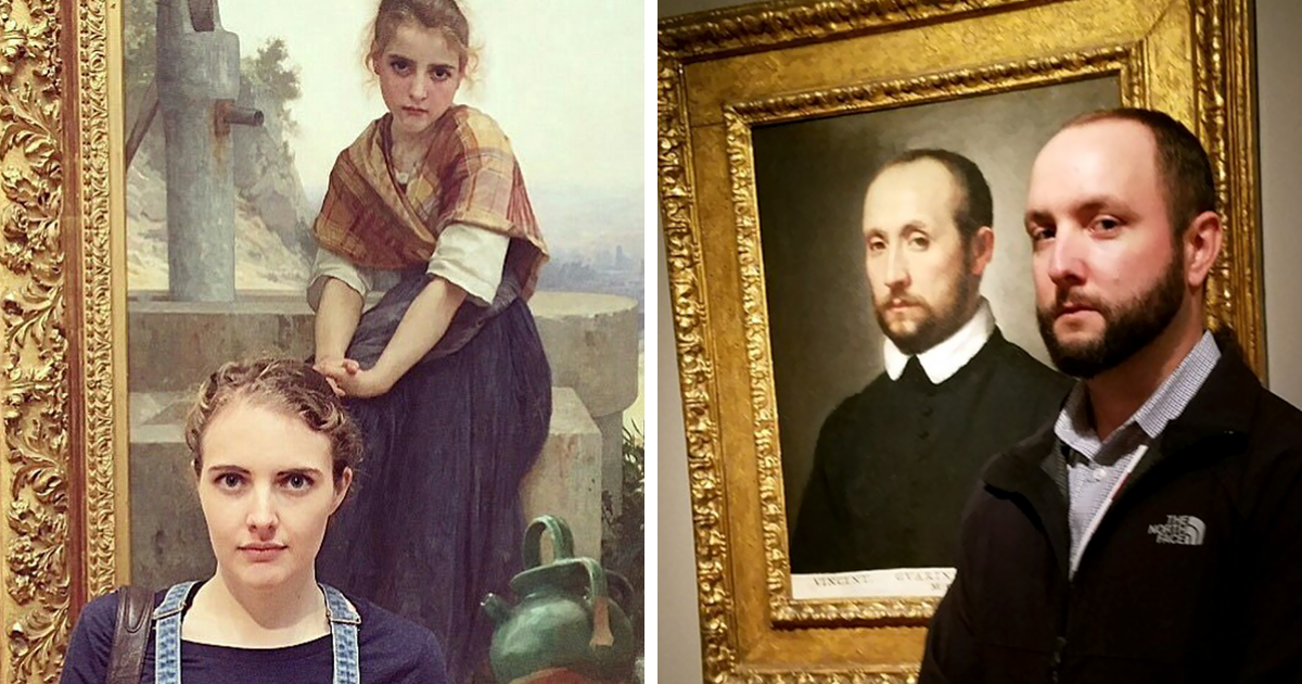 10+ Times People Accidentally Found Their Doppelgängers In Museums And Couldn?t Believe Their Eyes